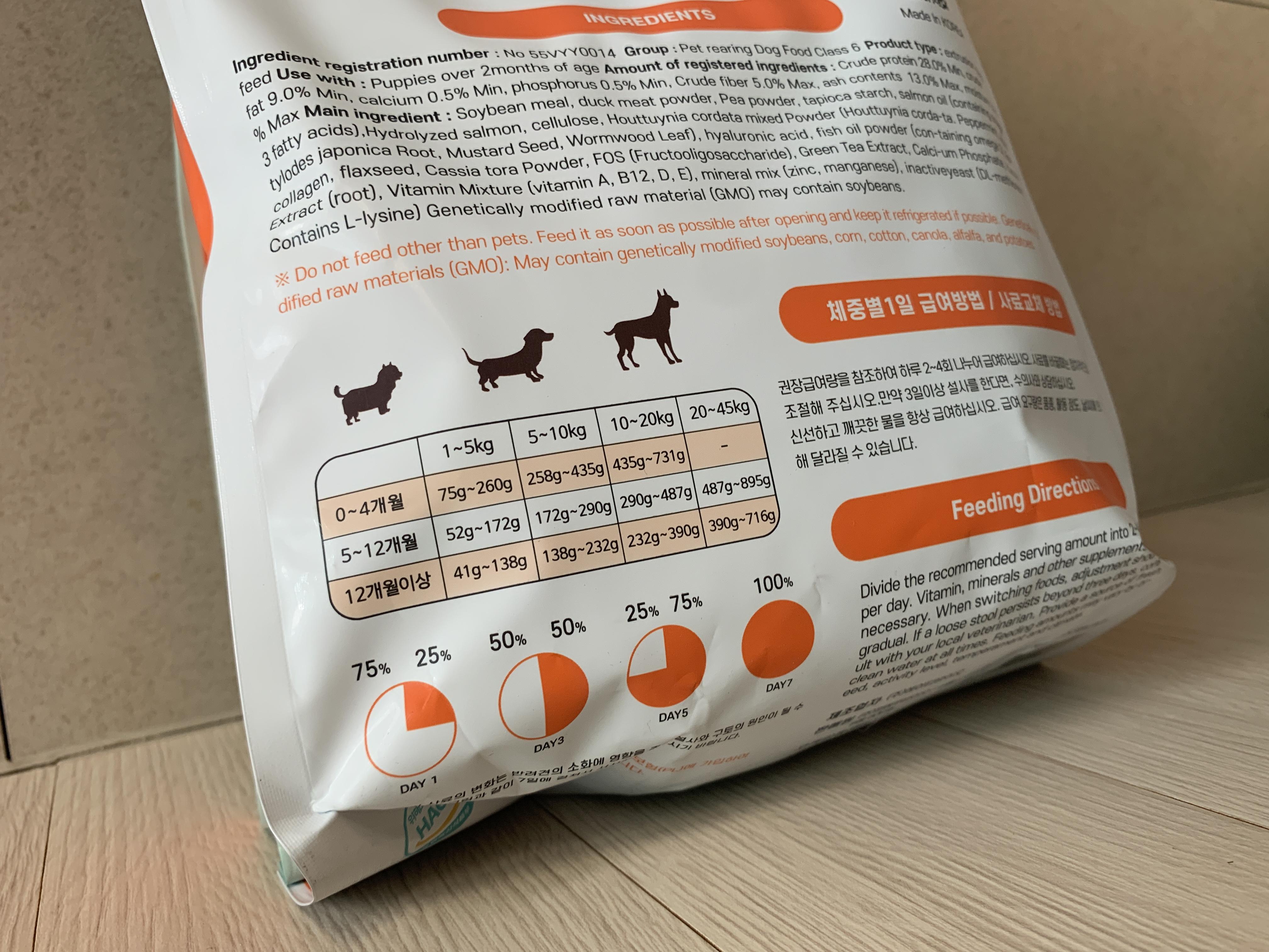 강아지 알레르기 사료